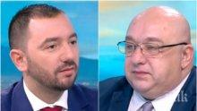 Хекимян с опит за провокация към Красен Кралев - министърът посочи имената, на които ще стискаме палци за олимпийски медал