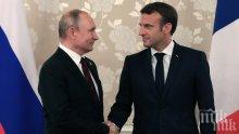 Путин и Макрон за ликвидирането на генерел Сюлеймани: Може сериозно да влоши ситуацията в региона