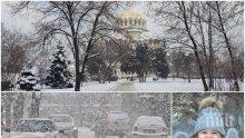 ЗИМАТА СЕ ЗАВРЪЩА: Нахлуват сняг и студ - температурите рязко тръгват надолу. Ето къде времето ще е най-лошо (КАРТА)