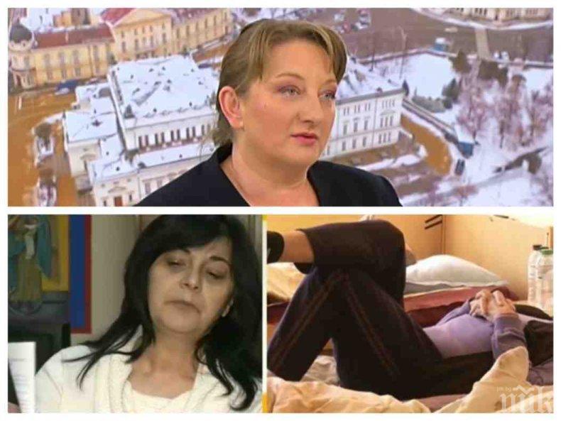 ЗЛОВЕЩА СТАТИСТИКА: Министър Сачева преброи 305-има, чакащи за дом като на 24-те смъртници в Горско Косово