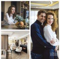 ИДИЛИЯ: Гери Малкоданска с дом за милиони - синоптичката показа луксозното си жилище, в чиято кухня царува... мъжът й (СНИМКИ)