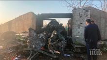 Зеленски призова да не се правят спекулации за самолетната катастрофа в Иран