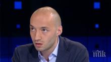 Димитър Ганев остро: Вотът на недоверие на правителството няма да мине