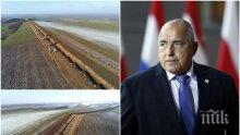 ЕКСКЛУЗИВНО В ПИК: Борисов показа как върви строежът на газопреносната мрежа в България (ВИДЕО/СНИМКИ)