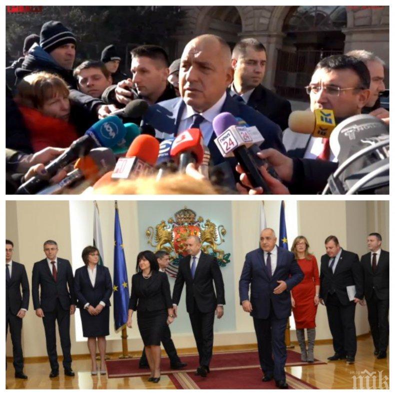 ПЪРВО В ПИК TV: Борисов ексклузивно след КСНС: Мир и дипломация, това е нашият призив! Премиерът проговори за оставката на Нено Димов (ОБНОВЕНА/СНИМКА)