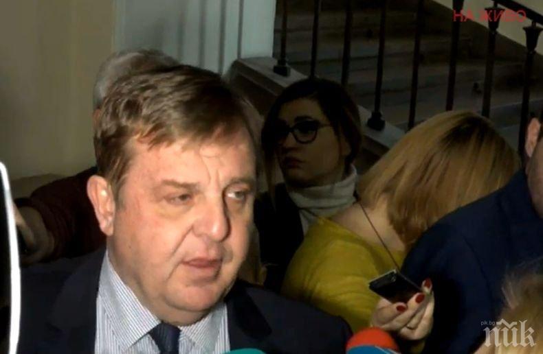 ПЪРВО В ПИК TV: Каракачанов с коментар за увеличаването на стажа на военнослужещите (ОБНОВЕНА)