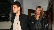 Шарапова и Гришо в опасна близост - Маша не хареса екипа на Димитров