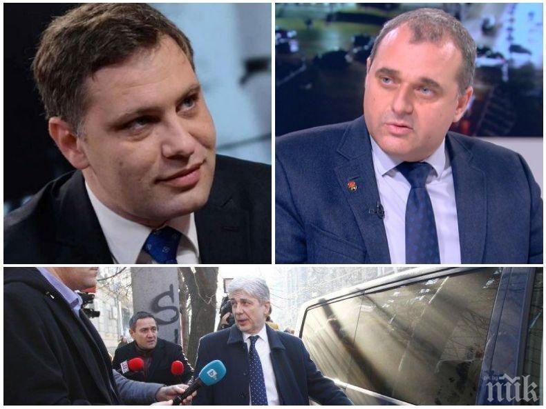 Искрен Веселинов и Александър Сиди с ПЪРВИ КОМЕНТАР пред ПИК за ареста на Нено Димов, кога ВМРО ще избира негов заместник и кой ще бъде той