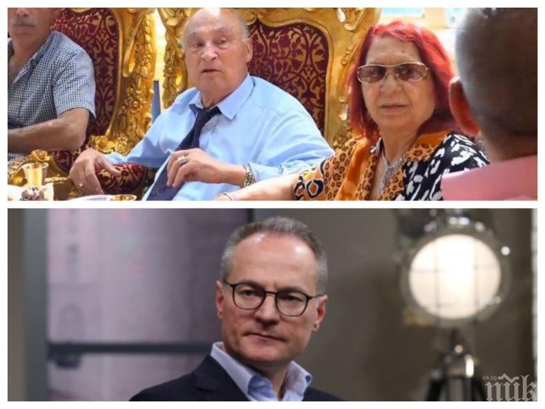 СРАМОТА: Съдът на Лозан Панов оневини Цар Киро за душене и плюене на журналисти