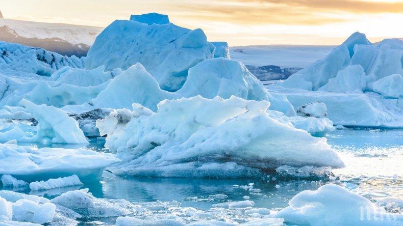 Снеговете на Арктика застрашени от разтопяване без морски лед