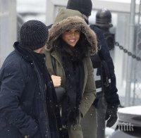 Меган Маркъл се появи за пръв път след кралския скандал (СНИМКИ)