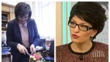 Деси Атанасова: Г-жа Нинова е толкова активна заради предстоящия конгрес на БСП
