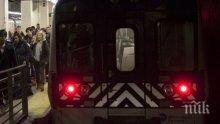 Мотриси се сблъскаха в метрото на Неапол, има ранени
