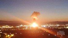 Взрив в нефтохимически завод в Испания! Има пострадали (ВИДЕО)