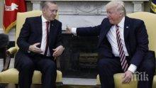 По жицата: Доналд Тръмп и Реджеп Ердоган обсъдиха ситуацията в Сирия, Либия и Иран