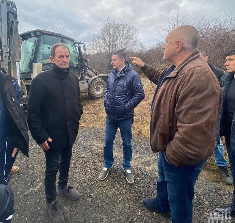 ПЪРВО В ПИК: Борисов представя проектите и решенията с водната криза в Перник