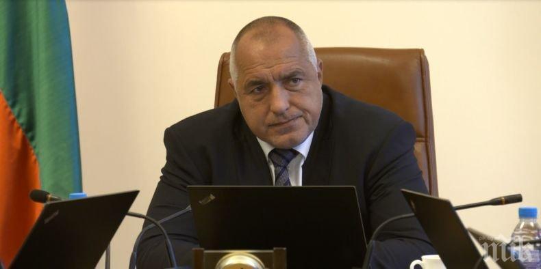 Борисов събира министрите заради водната криза