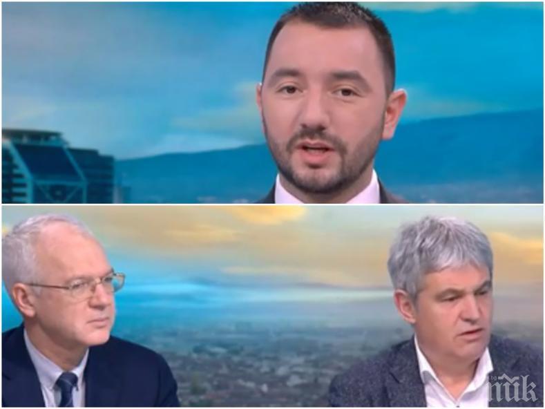 РАЗПАЛЕНИ СТРАСТИ: Синдикатите и бизнесът гуша за гуша! Васил Велев и Пламен Димитров се скараха за минималната заплата
