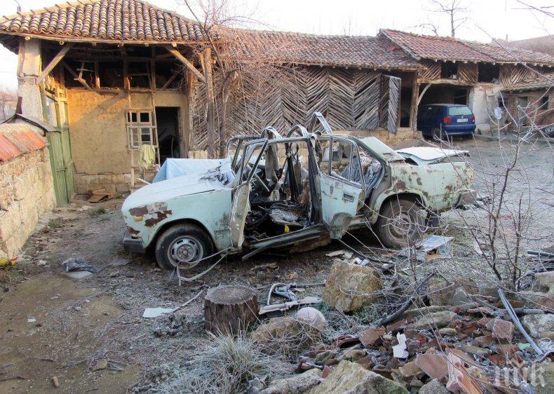 След взрива във Ветово: Минният инженер Димитър кътал 11 кила тротил и 8 амонит (СНИМКИ)