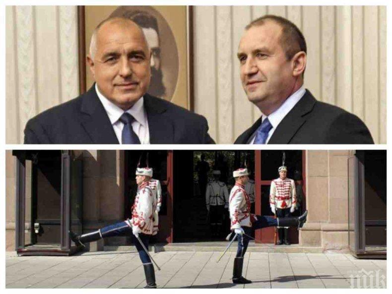 ГЕРБ разби конспирациите! Ето защо Борисов не присъства на консултациите в президентството