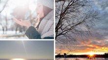 ЯНУАРСКО СЛЪНЦЕ: Топлата зима продължава - температурите се повишават още (КАРТА)