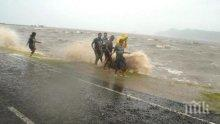 Тропическа буря връхлетя Фиджи
