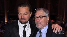 Леонардо ди Каприо и Робърт де Ниро отново заедно на голям екран