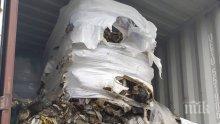 Няма установен радиоактивен или токсичен отпадък в проверените контейнери от Италия, намиращи се в Бургас (СНИМКИ)