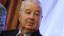Близки на академик Благовест Сендов не искат медии на погребението