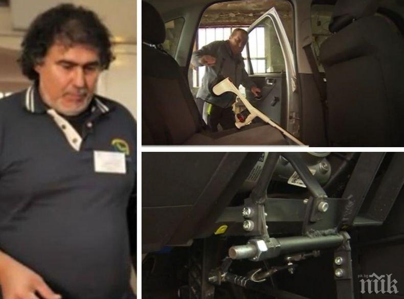 Майстор от Стара Загора преустройва автомобили за хора с увреждания