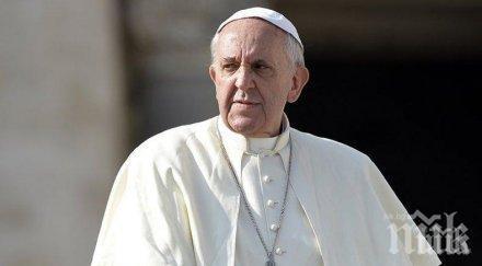 Папата с призив към форума в Давос: В центъра да са хората, а не печалбата