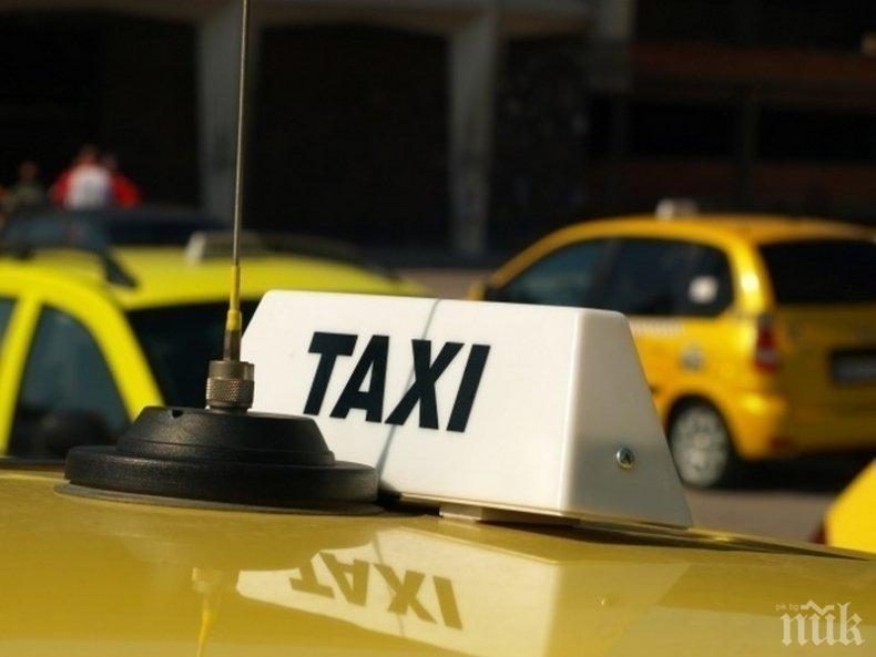 НА КУРОРТ: Оставиха пияния крадец на такси в София в ареста