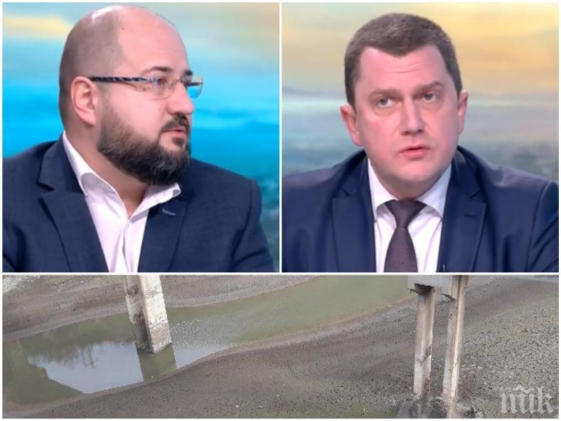 ГОРЕЩА ТЕМА: Кметът на Перник похвали Борисов след новината за водния проект - столичен общински съветник предупреди: По всяко време можем да врътнем кранчето