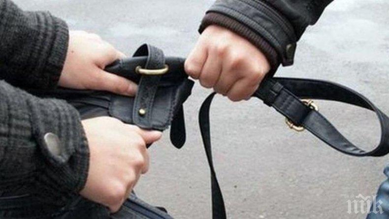 Деца нападнаха и ограбиха жена в Русе
