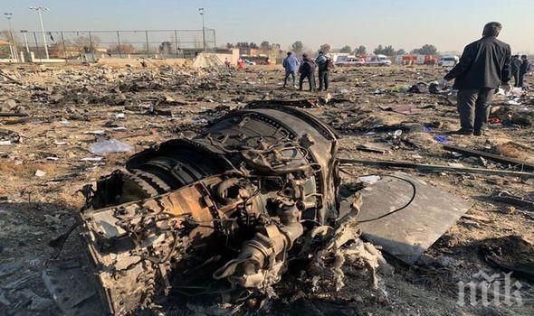 Иран ще сподели информация с Украйна за самолета