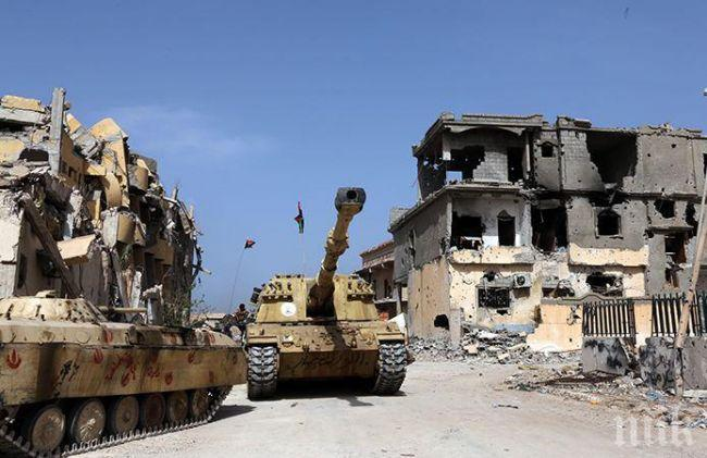 ЕС иска санкции на доставчиците на оръжие за Либия