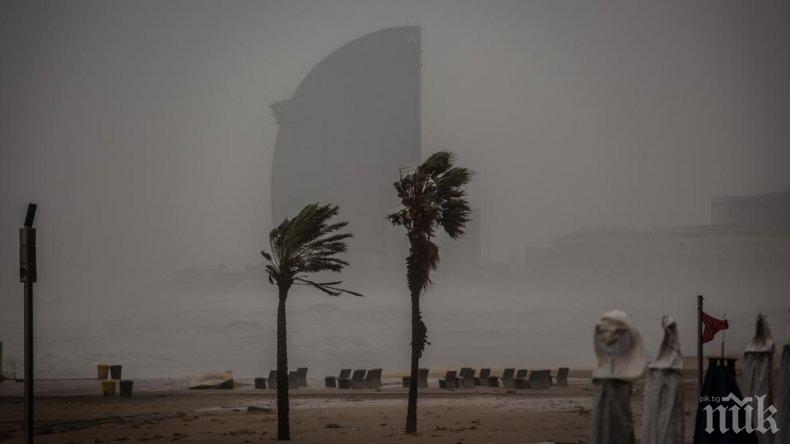 Осем души са жертви на лошото време в Испания