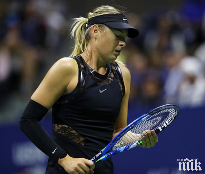 Мария Шарапова отпадна още в първия кръг на Откритото първенство на Австралия