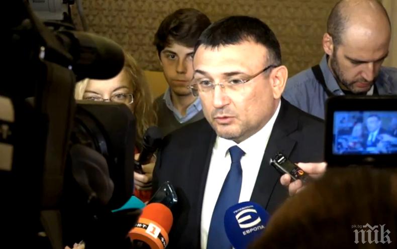 Младен Маринов: Не избираме момента в случаи като този с акцията за Комисията по хазарта