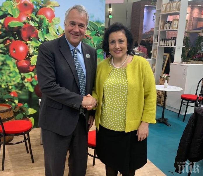 Десислава Танева: Търсим подкрепа от държавите за запазване на Националната преходна помощ
