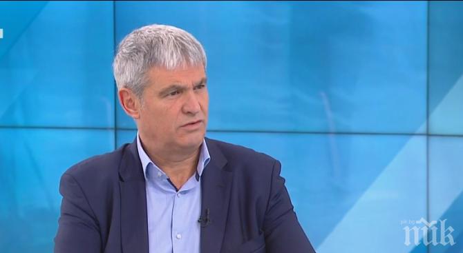 Лидерът на КНСБ Пламен Димитров: 6500 души от ВиК сектора работят на минимална заплата