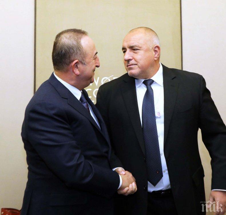 ПЪРВО В ПИК TV: Борисов на важна среща с Чавушоглу (ОБНОВЕНА)