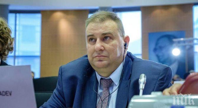 Евродепутатът Емил Радев с добра новина за България