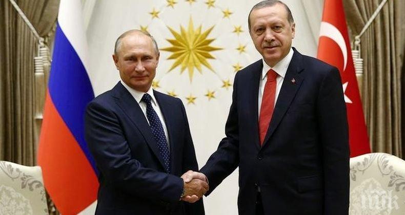 Ердоган е сигурен, че Турция ще обере плодовете на усилията си в Либия