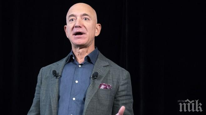 Джеф Безос отново оглави списъка на най-богатите хора в света