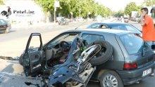 Кола помете мотор в Хасково</p><p> </p><p>