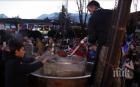 В Банско сготвиха капама за 1000 души