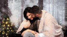 Първа рожба: Фолк певица роди дъщеря на футболист