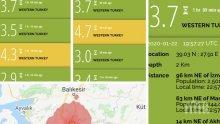Трусове: Серия от земетресения удариха Турция, най-силното бе 5,6 по Рихтер