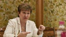 Кристалина Георгиева: Най-важно за България е да инвестира в хората